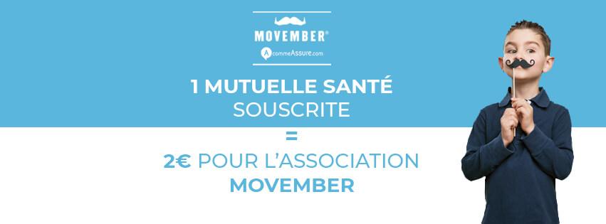 AcommeAssure partenaire de Movember